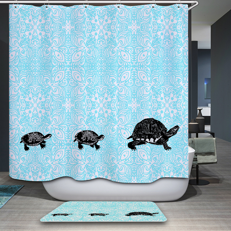 Aliexpress.com : Buy Mermaid Shower Curtain Bathroom Decoration Home  Decorations Of The Seabed Fish / Mermaid Whale Cute Cartoon From Reliable  Mermaid ...