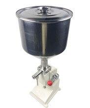 A03 manual creme máquina de enchimento creme & shampoo & cosmético manual enchimento líquido