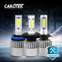 CARLitek 2 Pcs Car Headlights LED Bulbs H4 H7 H1 H11 9005 9006 12V C6 S2