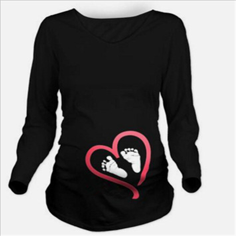 Maternity clothes 2017 New Maternity long sleeve tshirt Casual Maternity Clothing Clothes For Pregnant Women Maternity dress