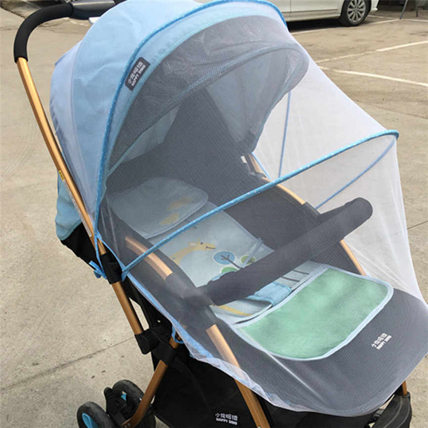 Baby Stroller Mosquito Net Full Insect Cover Carriage Kid Foldable Kids Netting 150cm Dropshipping June#06