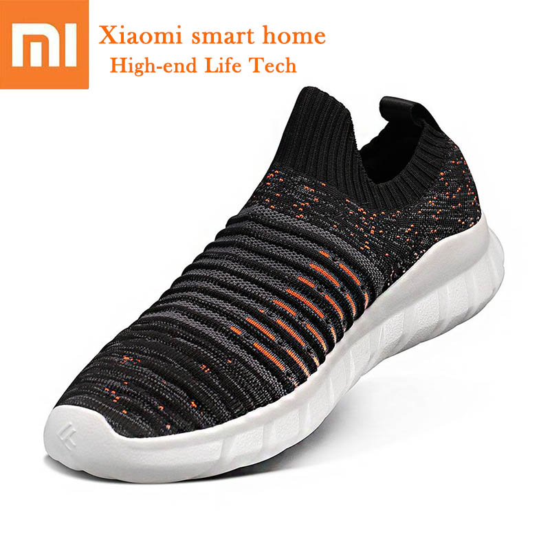 New 3 colors Xiaomi FREETIE Flying Woven Socks casual shoes Refreshing Breathable Lightweight Walking shoes Elasticity