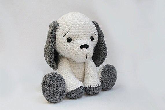 амигуруми собака вязаные крючком мягкие детские игрушки куклы