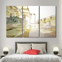 3 panels glass room multi panel wall art picture home decoration living room canvas print wall picture printing frame