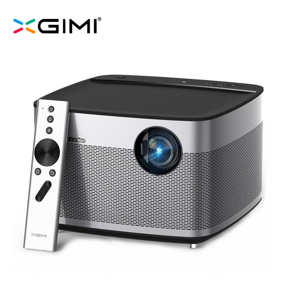 XGIMI H1 Projector 1080P 900 Ansi Full HD 3D 4K Projector 3GB/16GB Android Bluetooth Airplay Home Theater Beamer Proyector wzatco short throw projector daylight hdmi home theater 1080p full hd 3d dlp projector proyector beamer for church hall hotel