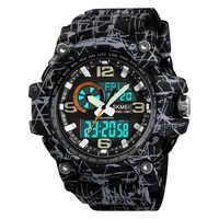 SKMEI Military Sports Watches Dual Display Top Brand Luxury Digital Quartz Watch Men Waterproof Wristwatches relogios masculino