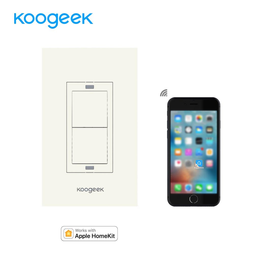koogeek smart home wifi light switch wireless remote. Black Bedroom Furniture Sets. Home Design Ideas