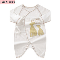 LALALUCKY New Born Baby S Rompers Baby Boy Clothes New Borns Babies Wear One Pieces Romper