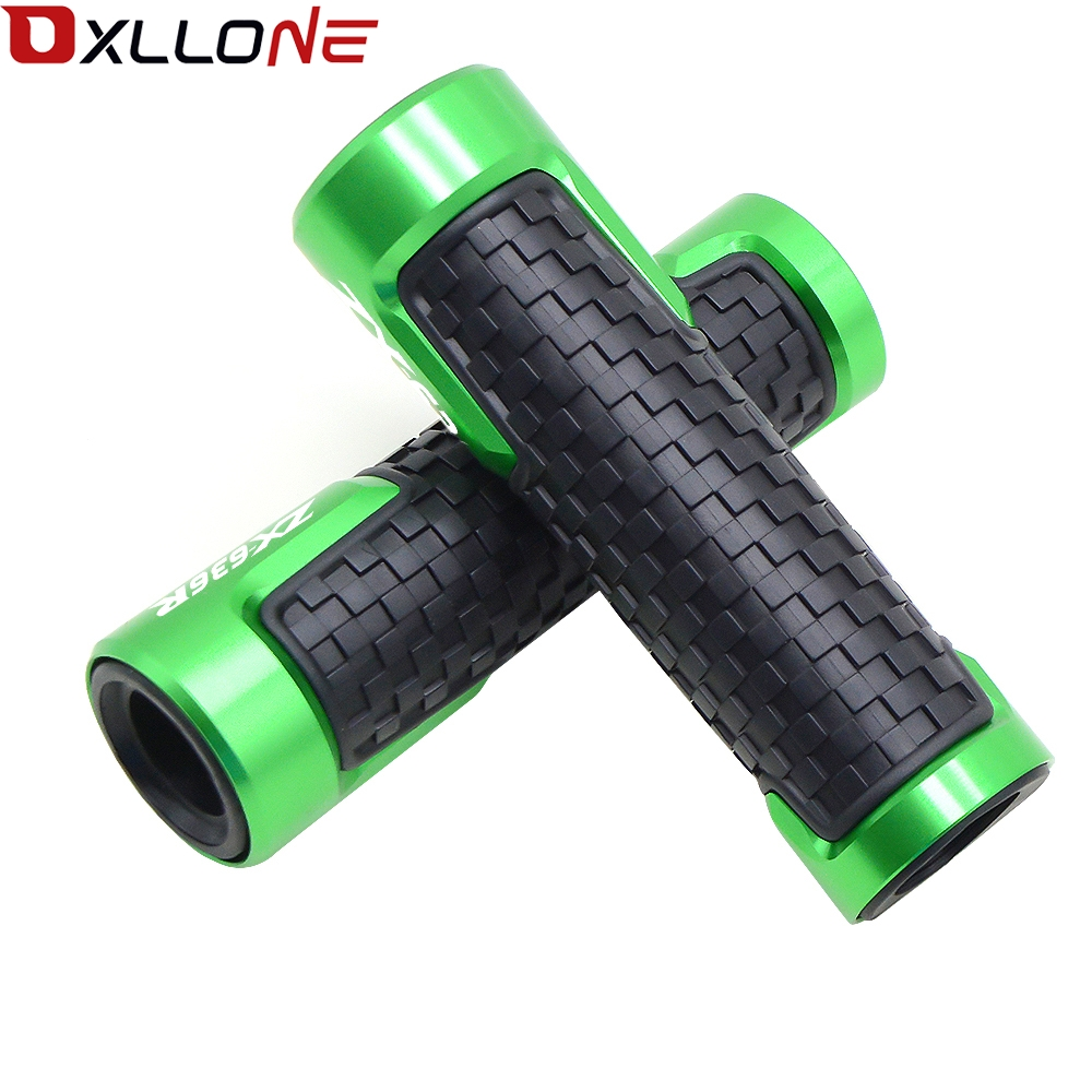 "Image 5 - Universal Accessories 22mm For 7/8""Motorcycle Handle bar caps Handlebar Grips For KAWASAKI ZX636R ZX 636R ZX 636 R 2000 2016-in Grips from Automobiles & Motorcycles"