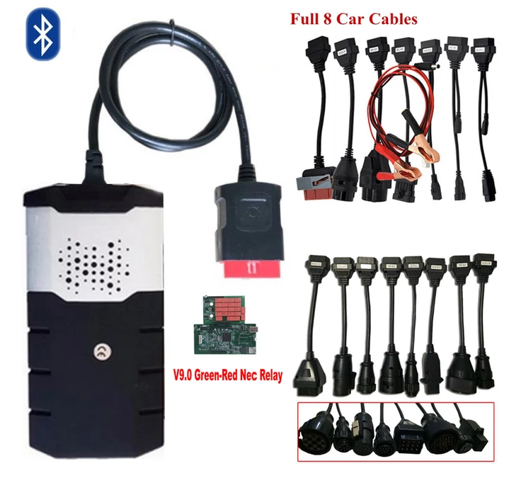 VIP PRICE for 8pcs car cables or truck cables works on all cdp scanner vd tcs