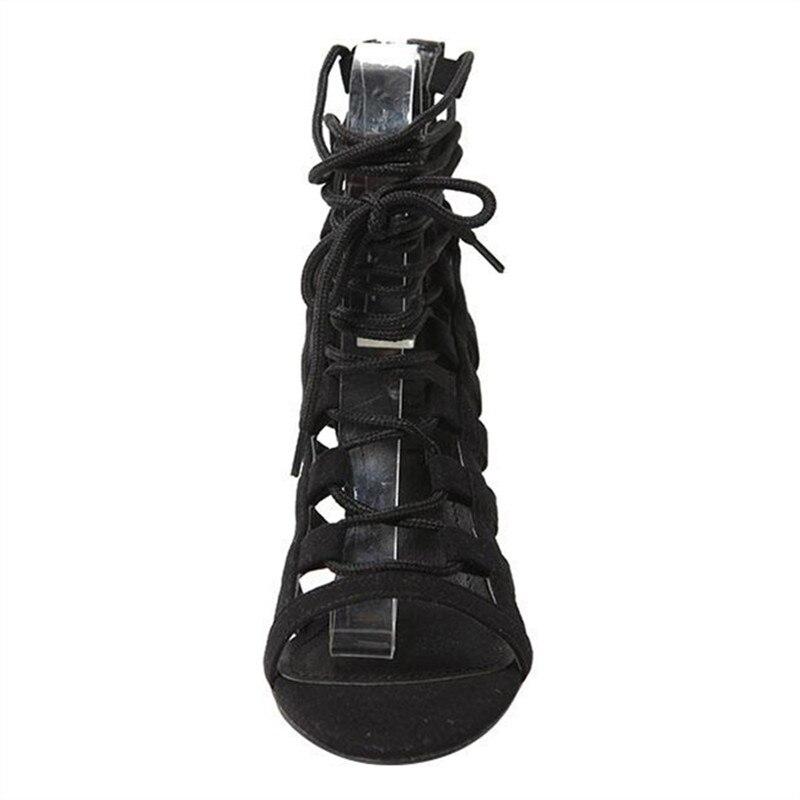 Donne Degli 43 Scarpe Sandals 42 Delle green Talloni Partito Sandali Size33 Velluto Sexy Gladiatore Di Dei Verde 41 Black Del Alti Estate Sandals 34c5jLRAq