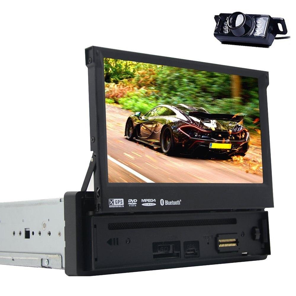Bluetooth цифровой медиа-ресивер 1 DIN Bluetooth стерео аудио FM Радио приемник MP3-плее ...