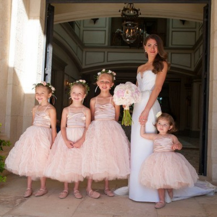 Light Pink Flower Girl Dress Dress Images