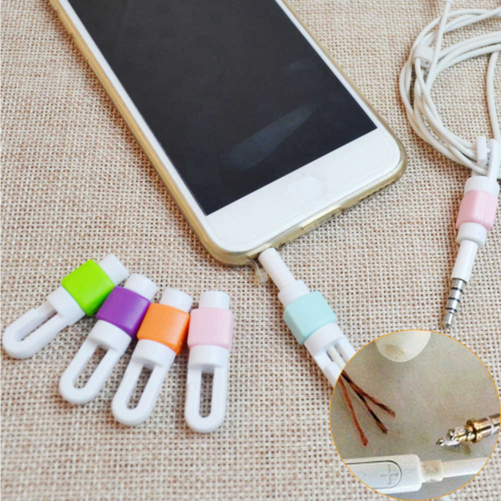 JETTING Phone Charging Cable Protector USB Cord Protecotor Winder Cover for iphone Samsung Headphone Cord Wires Protection Clips