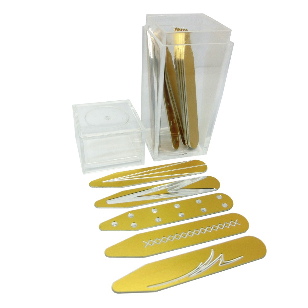 SHANH ZUN Different Color Aluminum Collar Stiffeners In Bottles