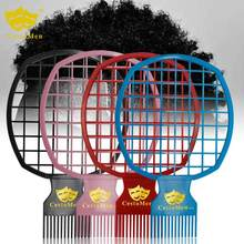 1PC Twist It Up Men's Comb Professional Curly Hair Dirty Braid Comb Perm Style Comb Afro Twist Men Styling Barbershop Tool(China)