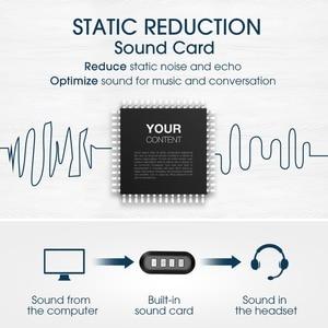 Image 4 - Mpow HC4 Over EarหูฟังตัดเสียงรบกวนคริสตัลClearไมโครโฟนชุดหูฟังAUX & USBปลั๊กสำหรับPC/iPad/แท็บเล็ต