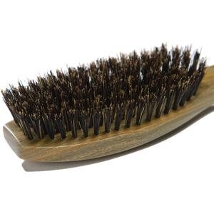 Image 3 - 1PC Sandalwood Hairbruh Boar Bristles Wooden Comb Hair Brush Green Sandalwood Handle Hair Care Comb DE14