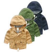 V TREE Spring Autumn Jacket For Girls Cartoon Boys Coat Hoody Children Outerwear Baby Windbreaker
