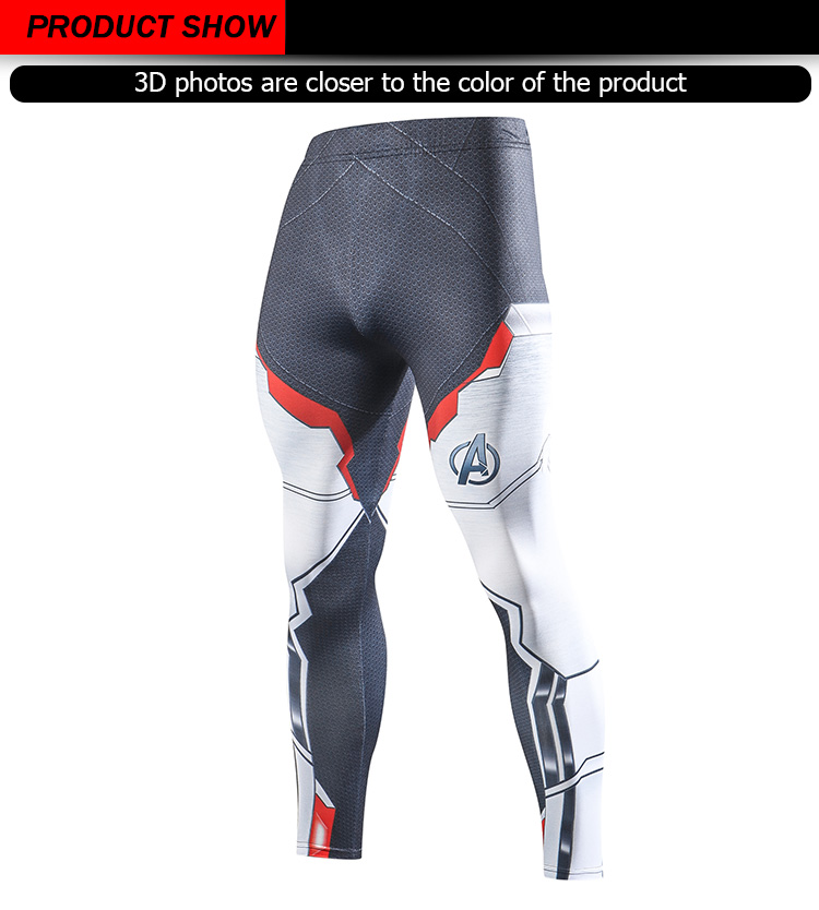 2019 Compression Pants Running Tights Men Training Pants Fitness Streetwear Leggings Men Gym Jogging Trousers Sportswear Pants 39