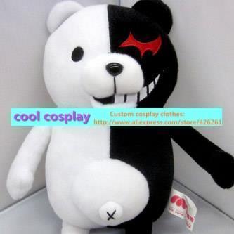 Горячее надувательство аниме Danganronpa Dangan ronpa monokuma злой медведь плюшевые мягкая кукла игрушка для малышей мальчиков и девочек подарки 30 см