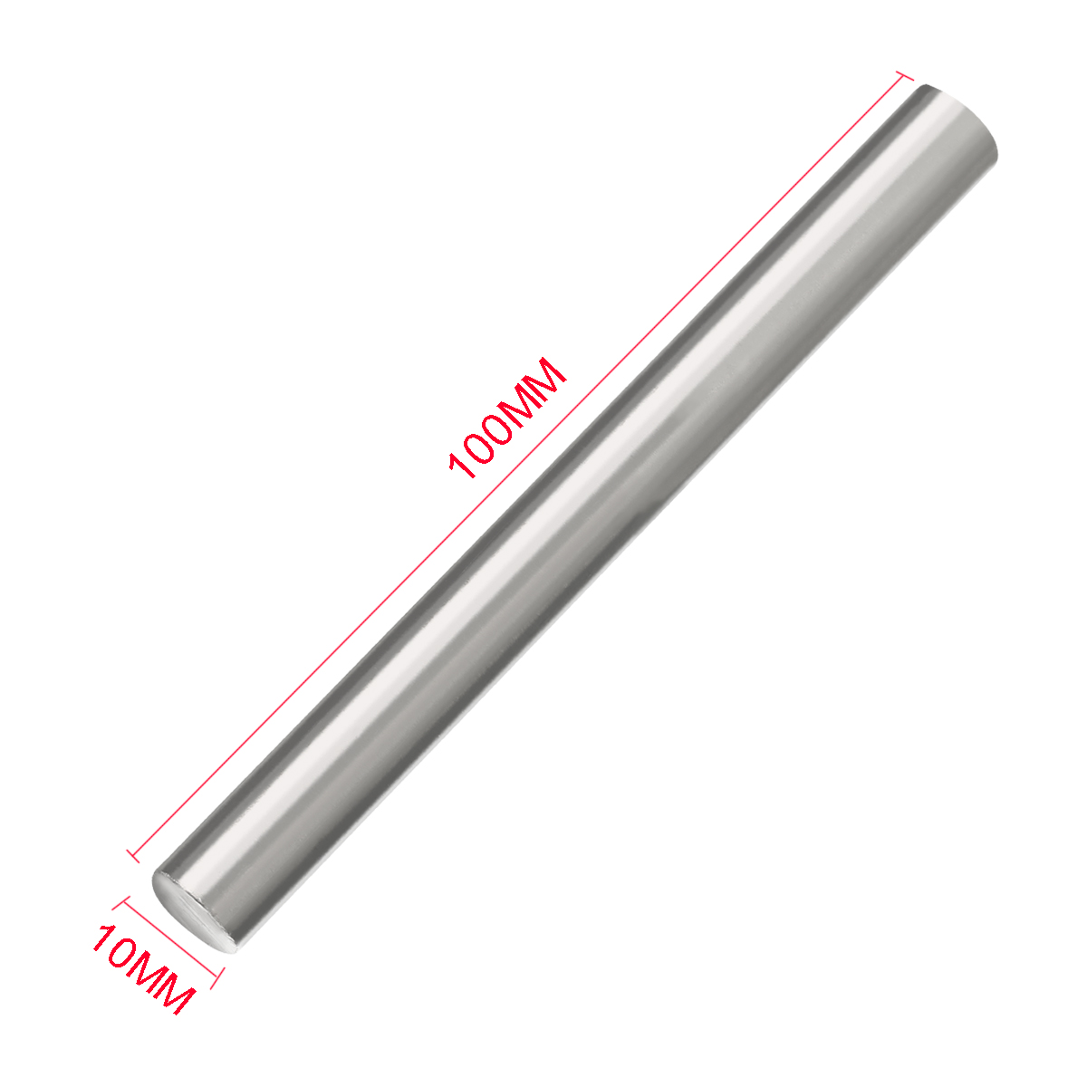 1pc 10mmx100mm Titanium Rod Heat Resistant Ti Grade 2 GR2 Metal Shaft Round Bar Mayitr(China)