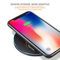 Ци беспроводное зарядное устройство для Айфона 8 х 10 вт быстрая беспроводная зарядка для samsung С8/С8 +/С7 на nexus5 Lumia с USB кабель быстрый зарядный коврик