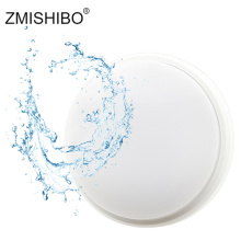 ZMISHIBO LED Round Shape Ceiling Lamp IP54 Waterproof 220V 15W 18W Black White Super Bright Home Bathroom Lighting Fixtures zmishibo spider shape 8 12 16 heads e27 110v 220v pendant lamp black iron ceiling droplights for living room lighting fixtures