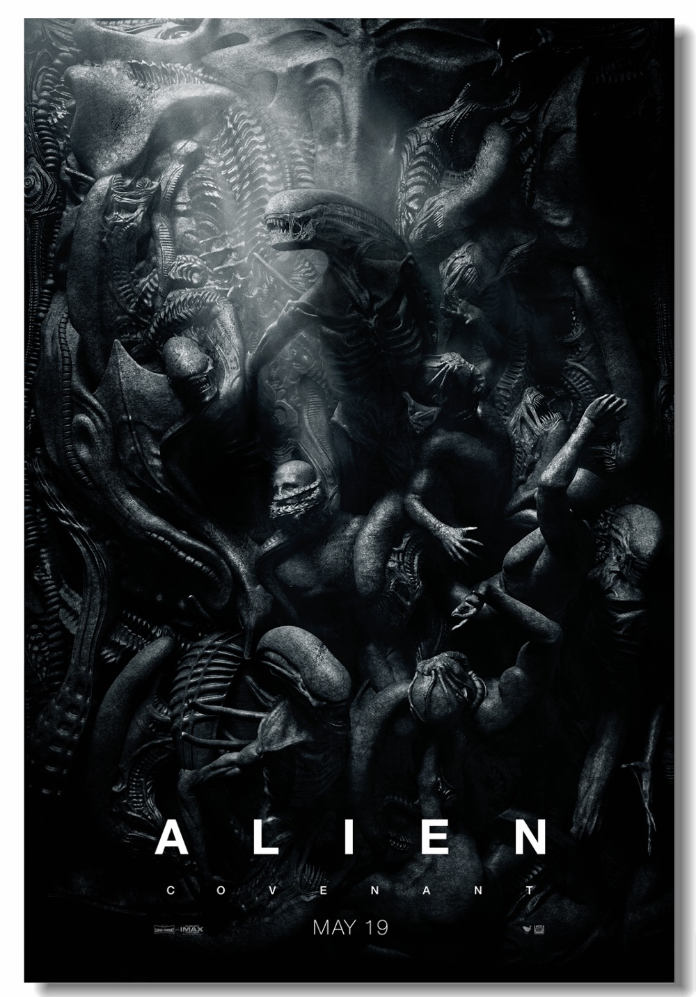 US 5 99 OFF Custom Canvas Wall Decor Aliens Poster Alien Covenant Wall Stickers Fice Mural Bedroom Wallpaper Living Room Decoration 0200 Wall