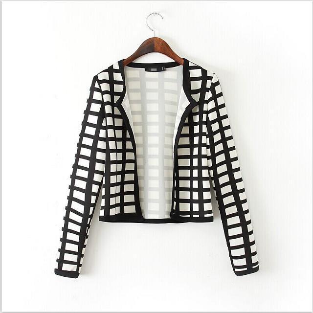 miglior fornitore ultimo di vendita caldo migliore selezione del 2019 Black and white jackets ladies. 🔥 Shop Dress Jackets & Blazers ...