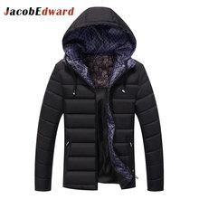 Men s Winter Park Brand Clothing Long Sleeve Slim Fit Jacket Coats Teenager Men Coats 2016