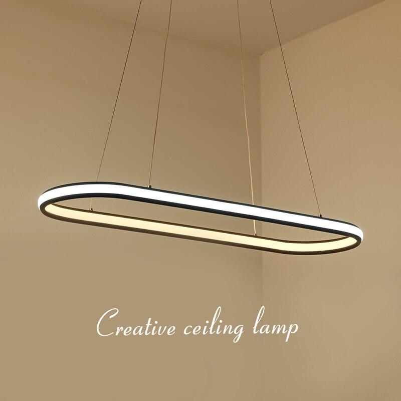 NEO Lueur Minimalisme Acrylique Moderne Led Lampes Suspendues Pour Salle À Manger Cuisine Chambre Bar suspension luminaire AC85-265V Pendentif Lampe