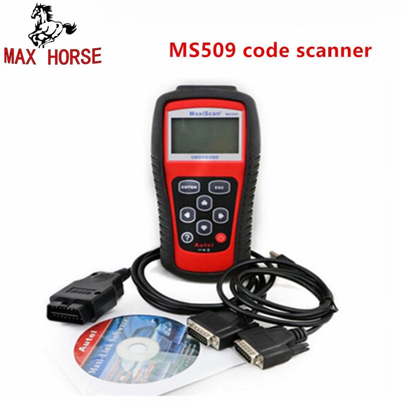 Ms509 Obdii/eobd Code Reader autel Maxiscan Ms509 Авто сканер охват (США, Азии и Европы) MS 509