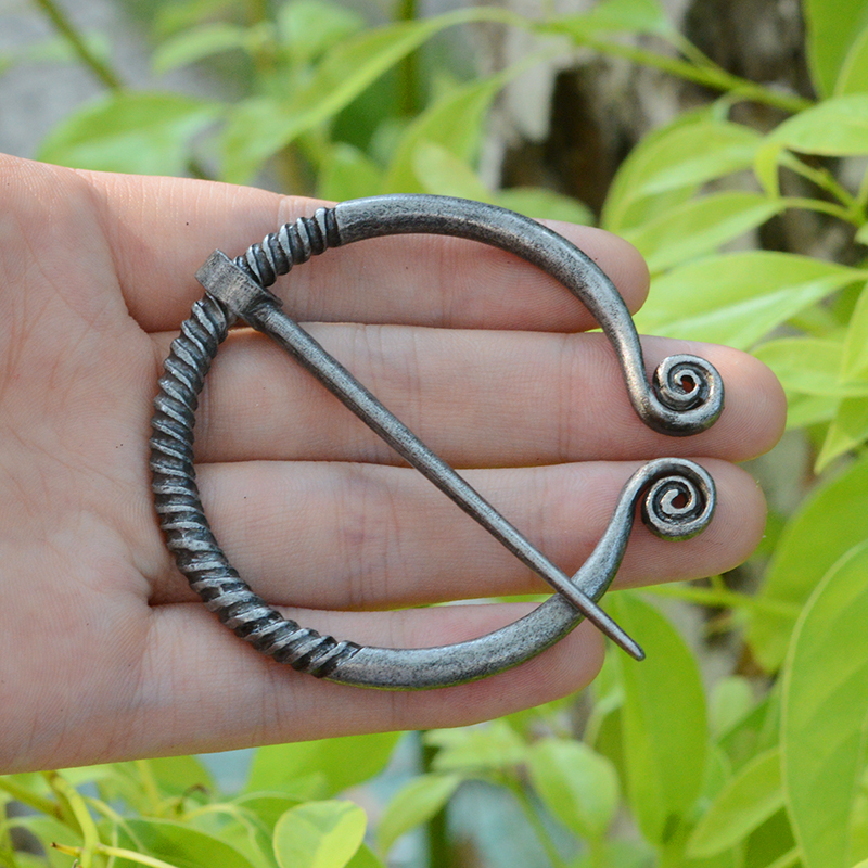 QIHE-JEWELRY-Ancient-silver-bronze-Belt-Buckles-Brooch-Buckle-Clasp-Cloak-Pin-Medieval-Viking-Jewelry-for