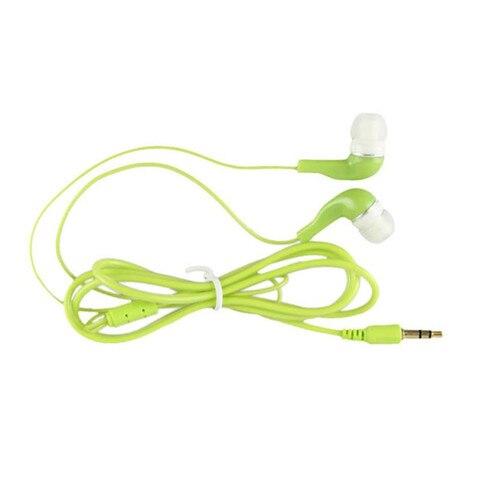 Newest  Fashion 3.5mm Stereo In Ear Earphone Earbud Black Headset For HTC iPad iPhone Samsung Sports Earphones Pakistan