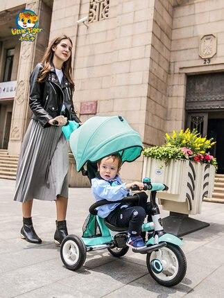 Laborioso A11 Tigre Bambino Triciclo Pieghevole 1-3-6 Anni Di Età Del Bambino Trolley Bambino Bicicletta Bambino Bicicletta Bicicletta