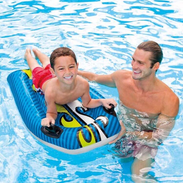 WYNLZQ 2018 été main courante flottant Ride-ons jouet d'eau pour adultes piscine radeaux natation jouets gonflables enfants famille Sport jeu