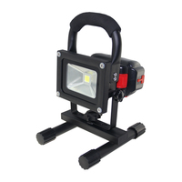 Portable 10W Rechargeable LED Flood Light Waterproof Hand Carry Outdoor LED FloodLight With Detachable Battery DHL