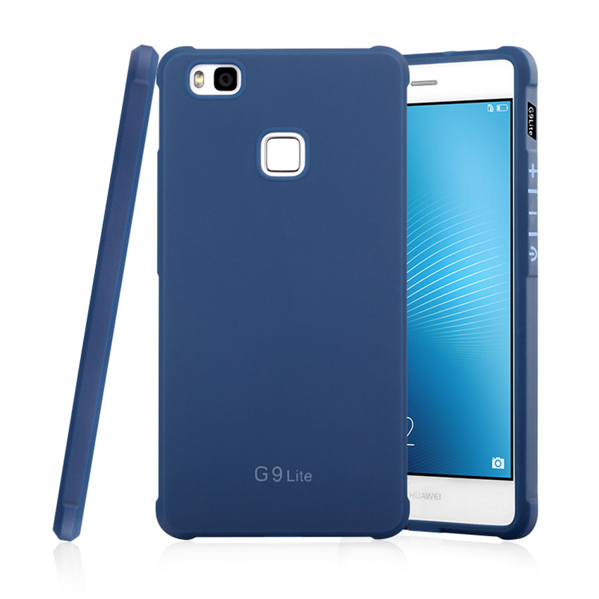 Για Huawei P9 Lite Case Πολυτελές Carbon Fiber Soft - Ανταλλακτικά και αξεσουάρ κινητών τηλεφώνων - Φωτογραφία 2