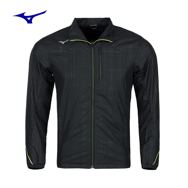 MIZUNO windproof woven shirt cardigan coat sweater for men table tennis sports Jersey 32ME7610 sport Clothing