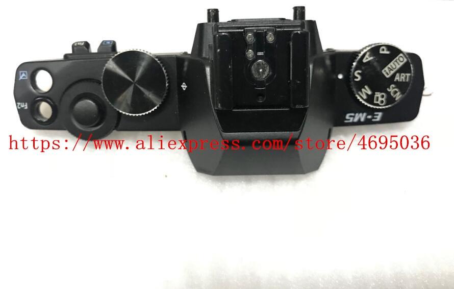 Original For OLYMPUS E-M5 EM5 Top Cover Power Swich Shutter Button Camera Repair Part UnitOriginal For OLYMPUS E-M5 EM5 Top Cover Power Swich Shutter Button Camera Repair Part Unit