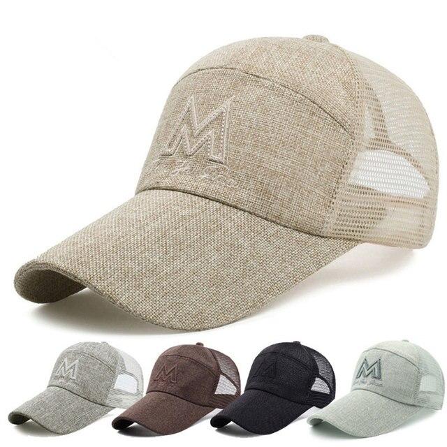 Gorras de béisbol hombres y mujeres al aire libre sombrero deportes ...