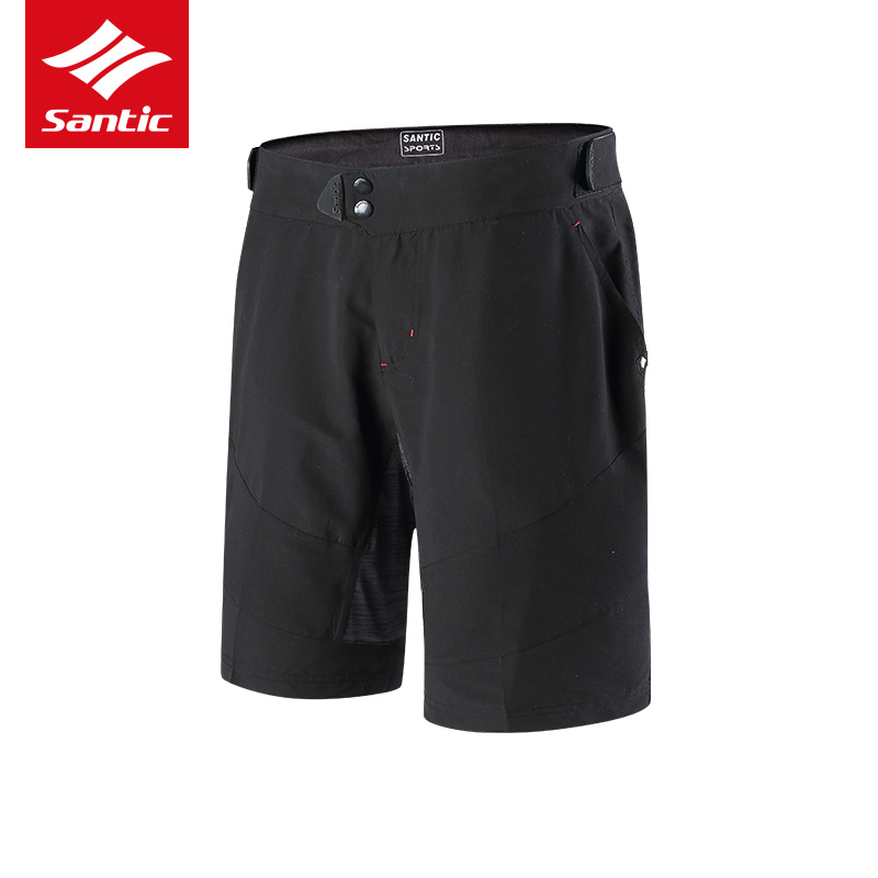 2018 New Men's Cycling Shorts MTB Quick Dry Breathable Bicycle Shorts Mountain Bike Riding Cycling Outdoor Shorts For Man SANTIC santic bike shorts women downhill shorts with italy sponge pad breathable cycling shorts for mountain bike bicycle cycle