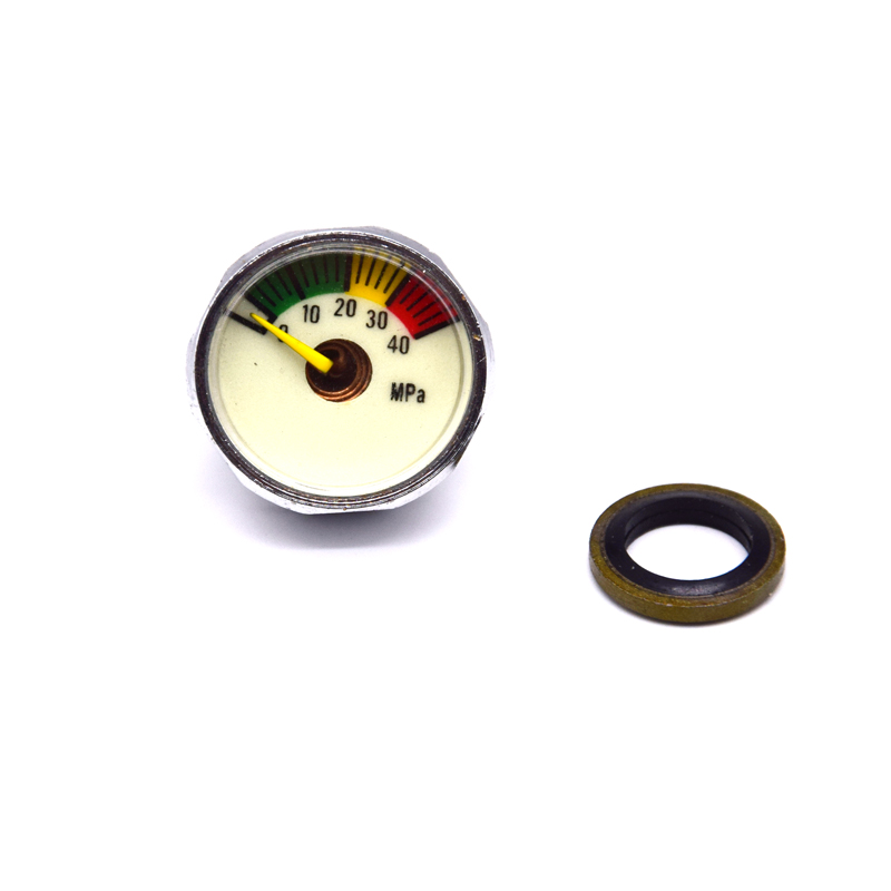 PCP Paintball Airforce Pump Valve 25MM High Pressure Gauge 1/8NPT M10Thread 40MPA/300BAR/5000PSI/6000PSI
