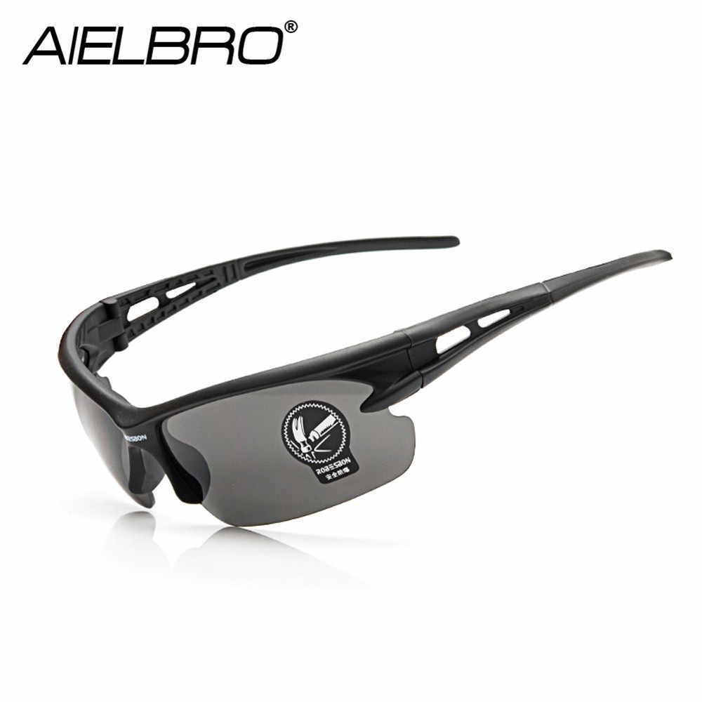 Men Women Cycling Glasses Sport 5Colors Outdoor MTB Bicycle Glasses Motorcycle Sunglasses UV Protection Glasses Windproof Men