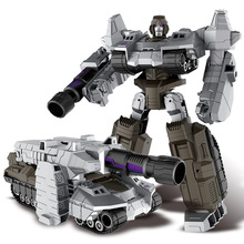 Transformation Plast Robotbilar Action Figur Toy Toy Transformation Kids Classic Robot Cars Leksaker Julklappar för barn