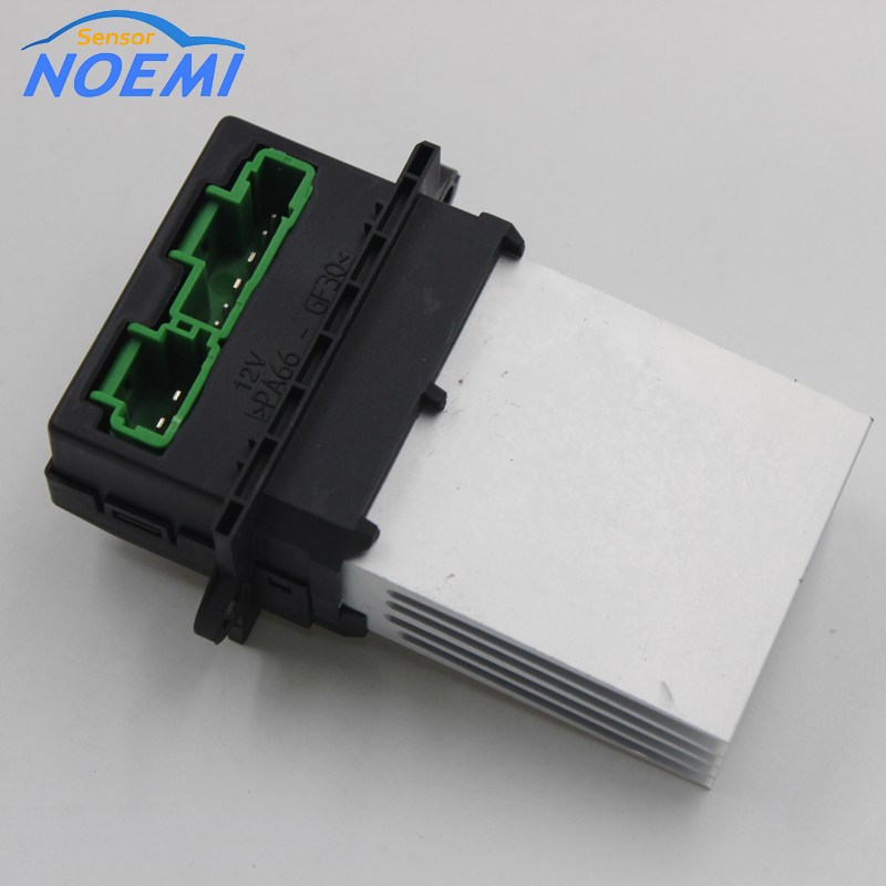 For Renault Megane Scenic Clio PEUGEOT 207 607 Heater blower Motor Resistor 6441L2 7701207718 7701048390 F657165W