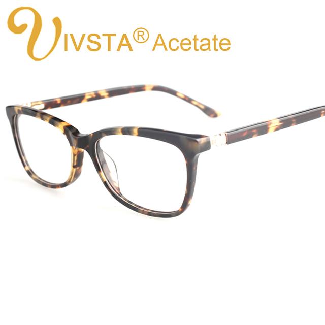 IVSTA Real Handmade Acetato Óculos Mulheres Frame Ótico Borboleta Realmente Frames De Acetato De Prescrição Óculos de Miopia diamante 8813