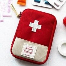 Дорожная Портативная сумка для хранения аптечка первой помощи сумка для уличной таблетки Несессер для выживания Аварийные наборы пакет