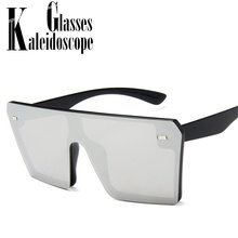 Vintage Oversized Sunglasses Women Brand Sun Glasses Shades